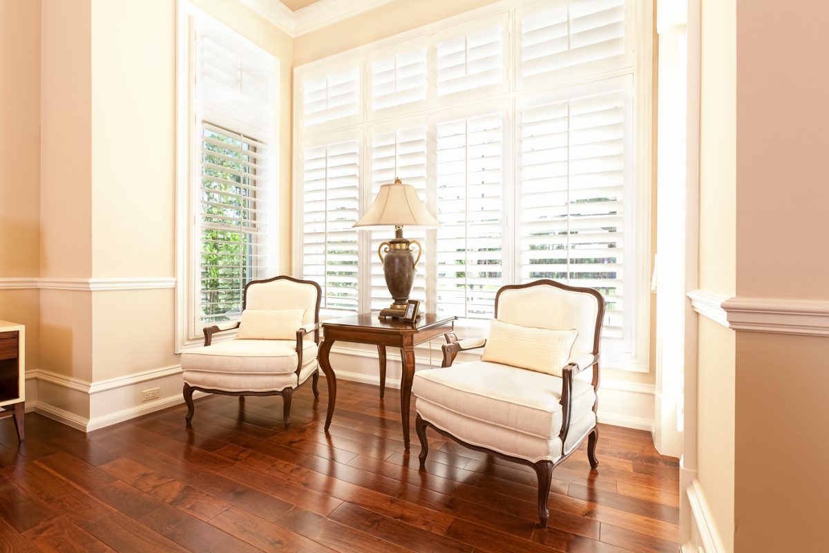 Shutters - Bedroom Sitting Area - Venluree
