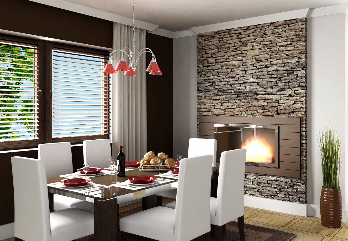 Venetain Blinds - Combination of timber venetians and curtains for a stunning finish - Venluree